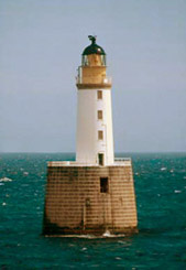 Rattray Head Lighthouse, designed and built by Charles Stevenson in 1895, marks the rocks and shallows off Rattray where so many ships, boats and lives were lost.