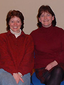 Helen Mark and Morag Skene